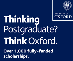 Thinking Postgraduate? Think Oxford.