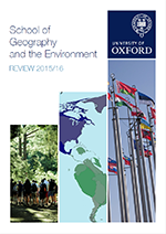 School of Geography and the Environment Review 2015/16