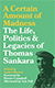 "Cover: ""A Certain Amount of Madness"": The Life, Politics and Legacies of Thomas Sankara"