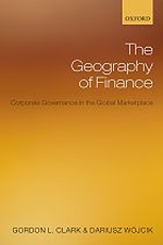 Cover: The Geography of Finance: Corporate Governance in the Global Marketplace