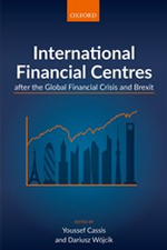 Cover: International Financial Centres after the Global Financial Crisis and Brexit.